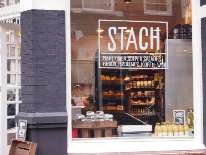 Stachfood in de Spiegelstraat Amsterdam