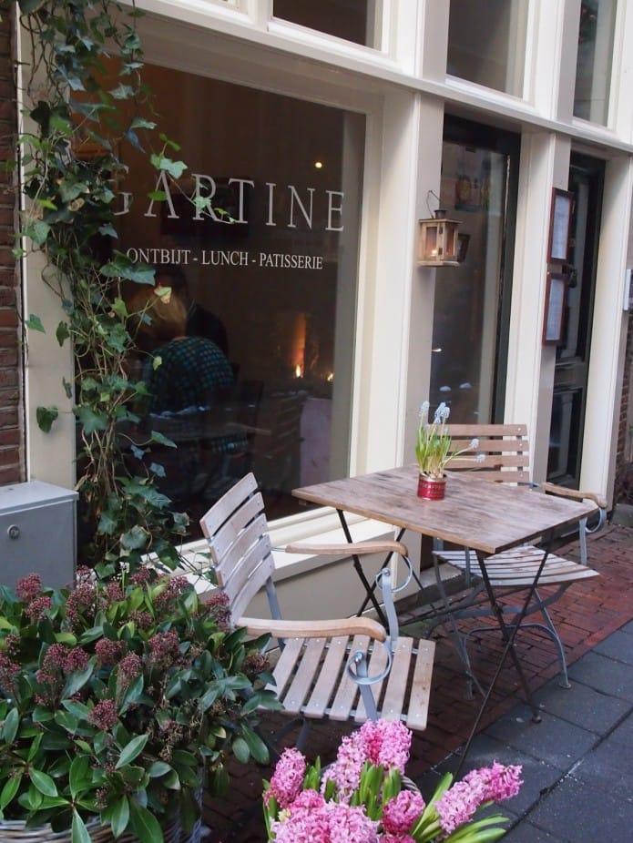 Gartine Frans restaurant in Amsterdam Centrum