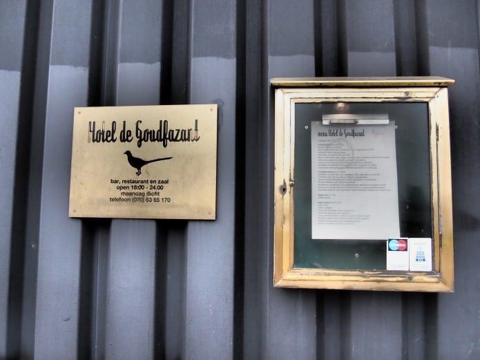 Hotel De Goudfazant in Amsterdam Noord