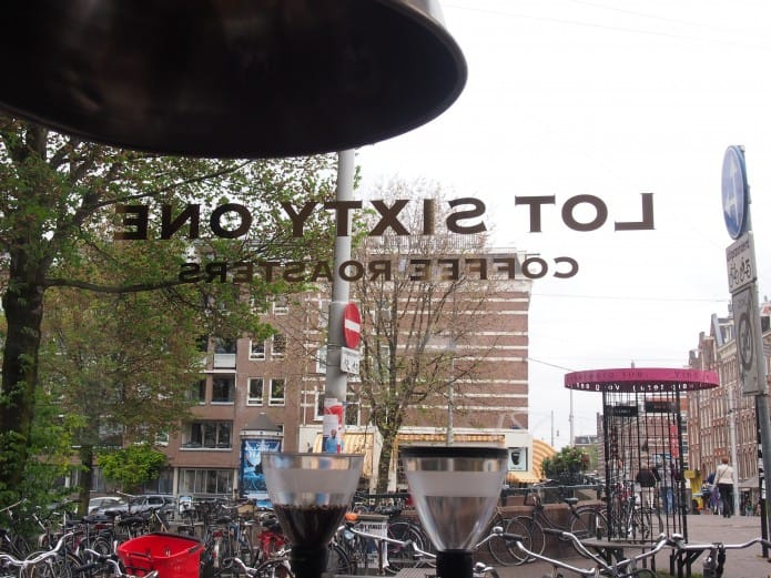 Lot Sixty One Coffee Roasters in Amsterdam Oud-West