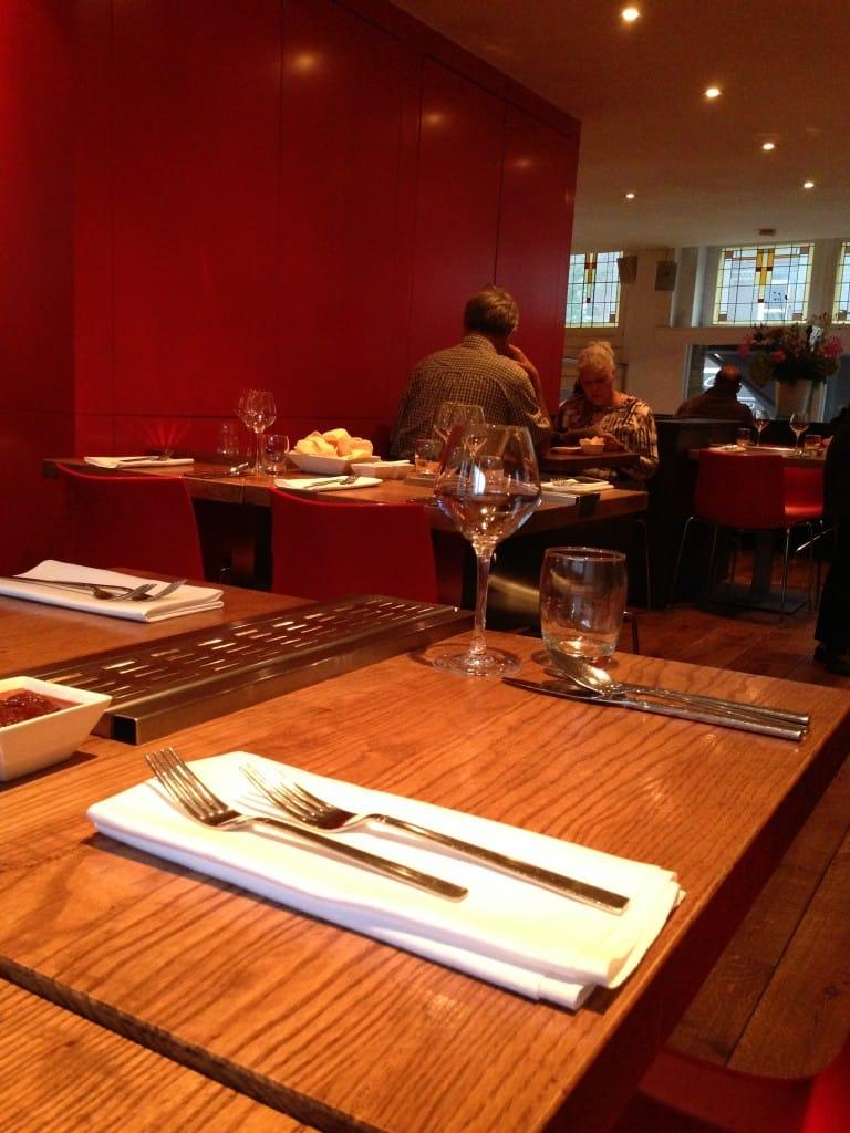 Indonesisch bij restaurant Blauw in Amsterdam