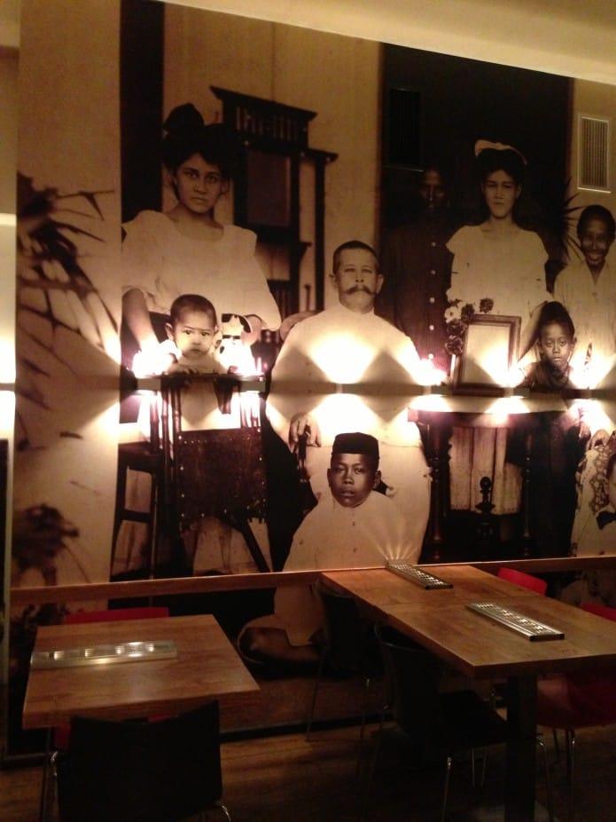 Indonesisch restaurant Blauw in Amsterdam