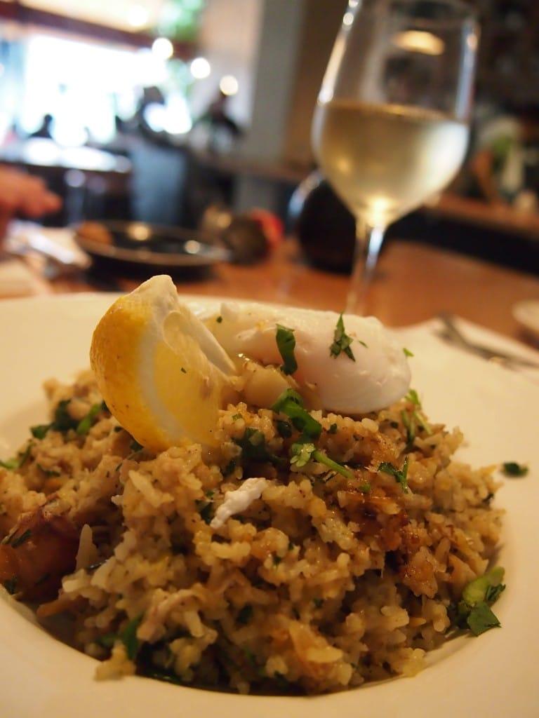 Australische wijn en rijst bij Little Collins