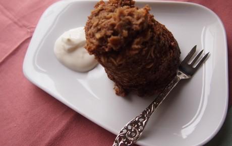 Supergezond ontbijt: eenpersoons chococake