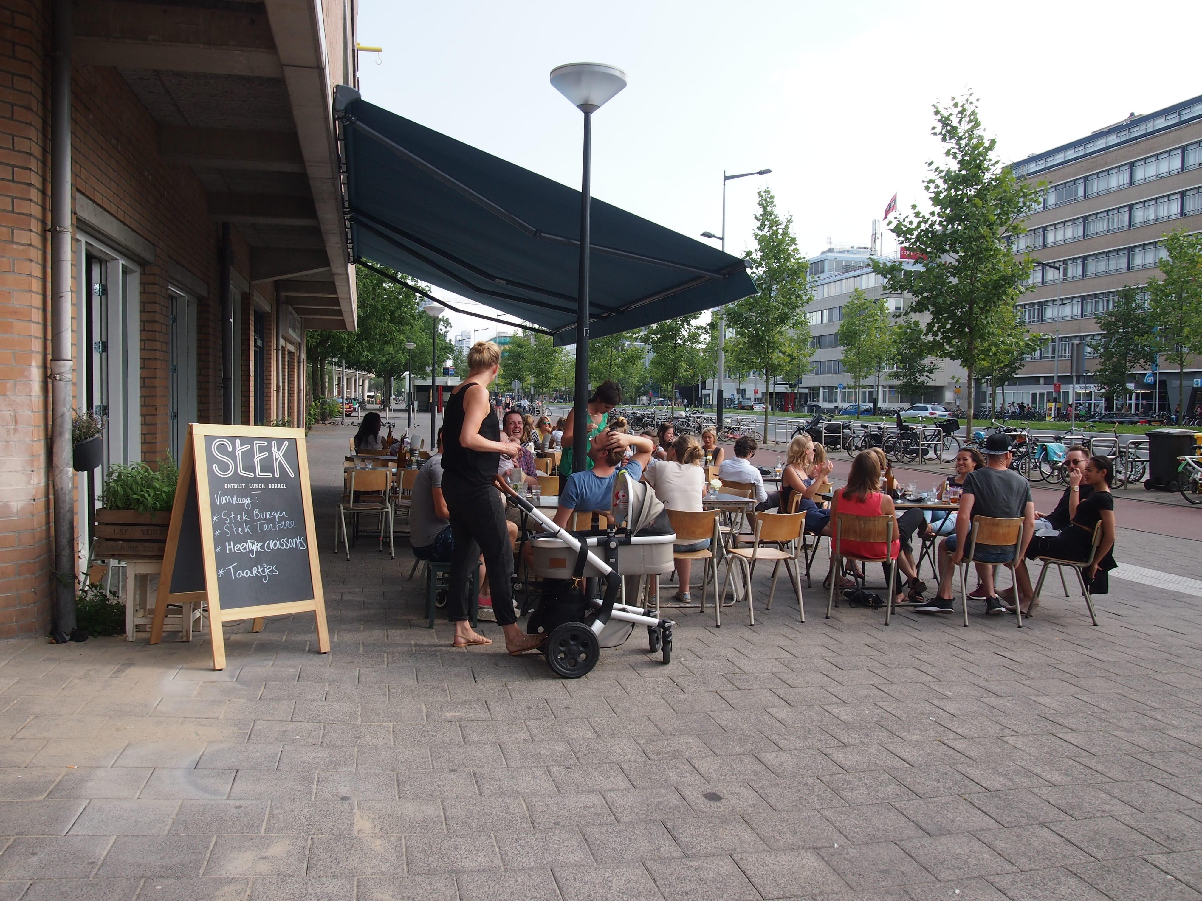 speciale lunchplekken amsterdam