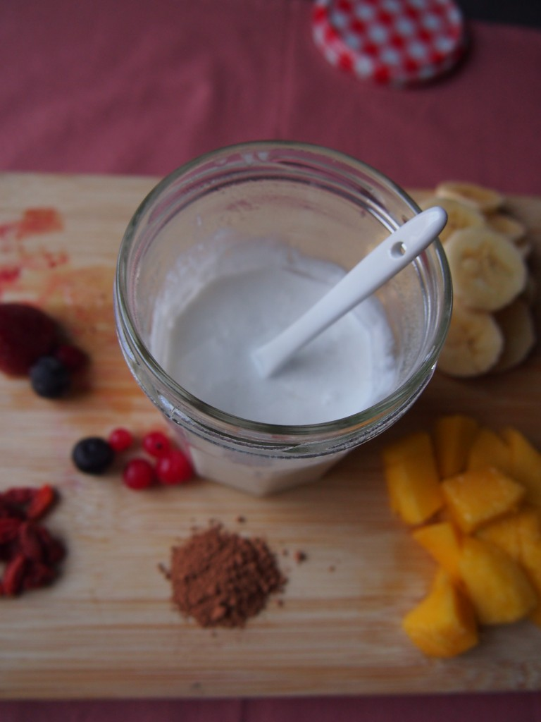 Recept zelfgemaakt kokosyoghurt