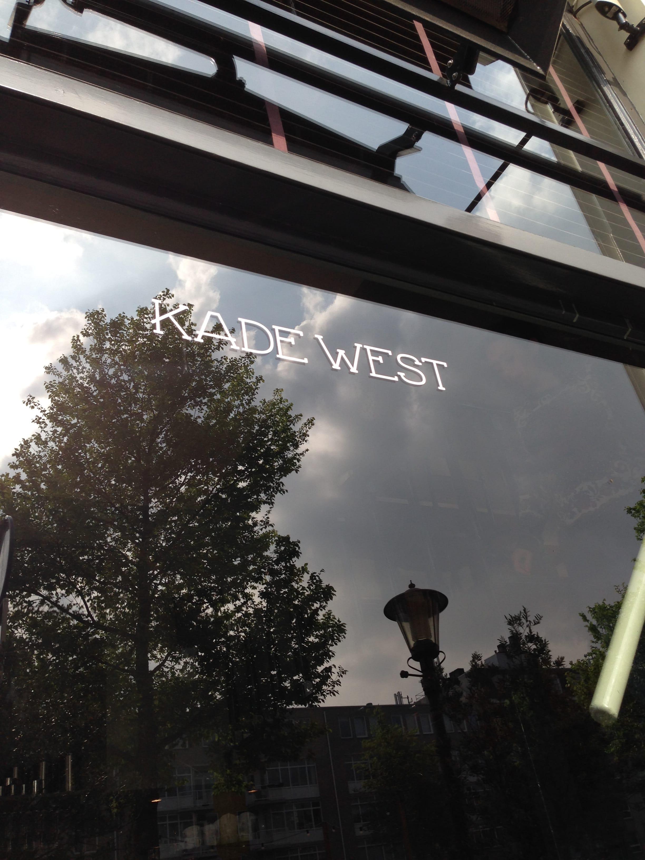 Nieuwe hotspot lunchtent borrel spot dineren restaurant Kade West Kinkerstraat Oud-West