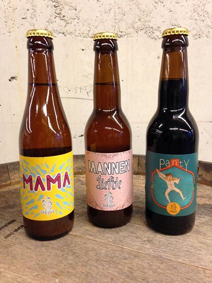 Biertjes van bierbrouwerij Oedipus in Amsterdam