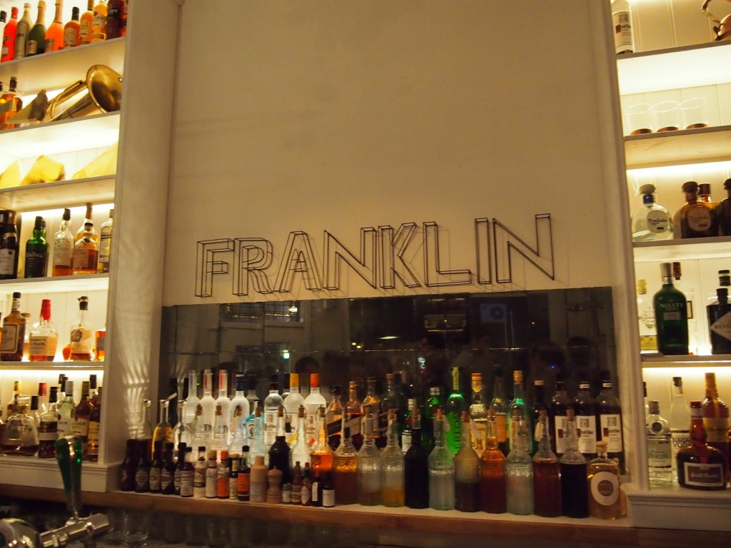 Franklin Bar & Kitchen aan de Amstelveenseweg in Amsterrdam Oud Zuid