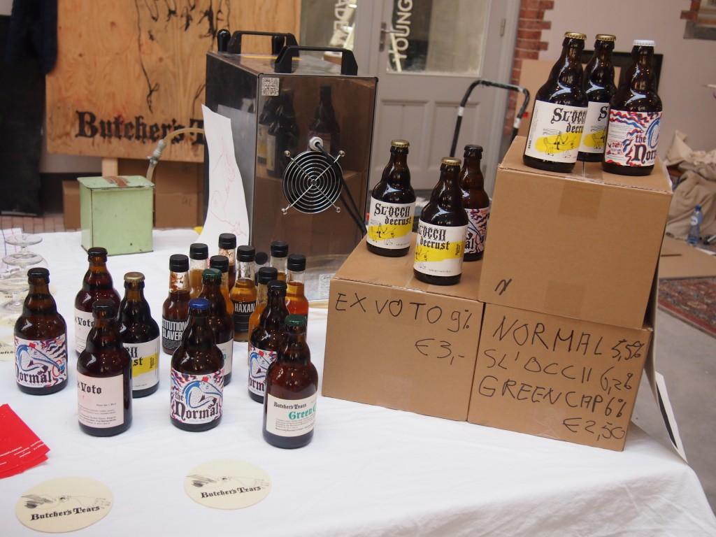 Biertjes van brouwerij Butcher's Tears in Amsterdam Oud-Zuid