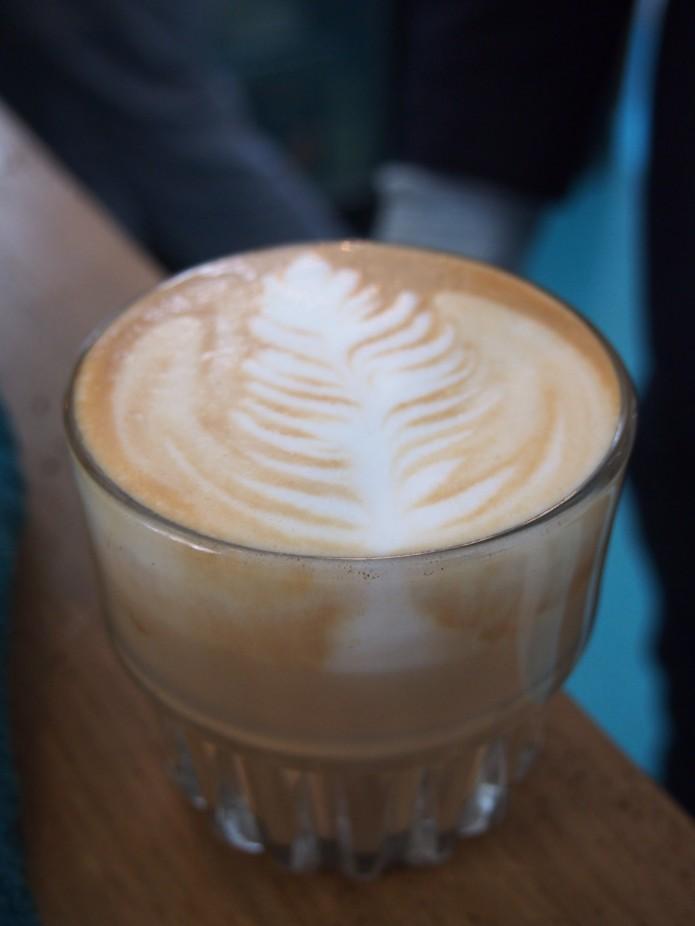 Koffie bij Rum Baba in Amsterdam Oost
