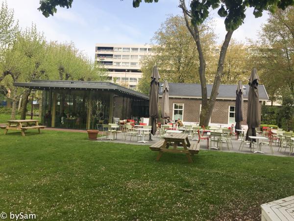 Dignita Hoftuin Amsterdam terras