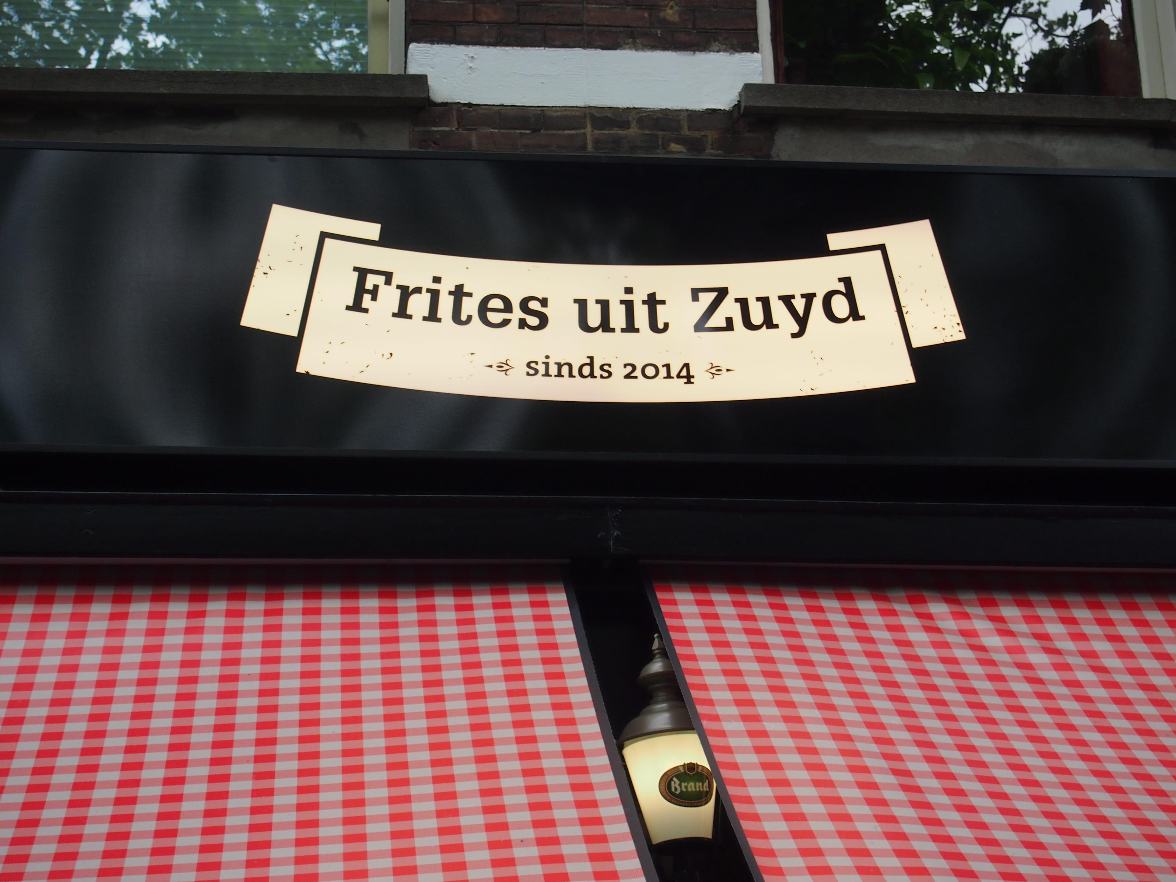 Frites uit Zuyd nieuw friet restaurant de Pijp Amsterdam
