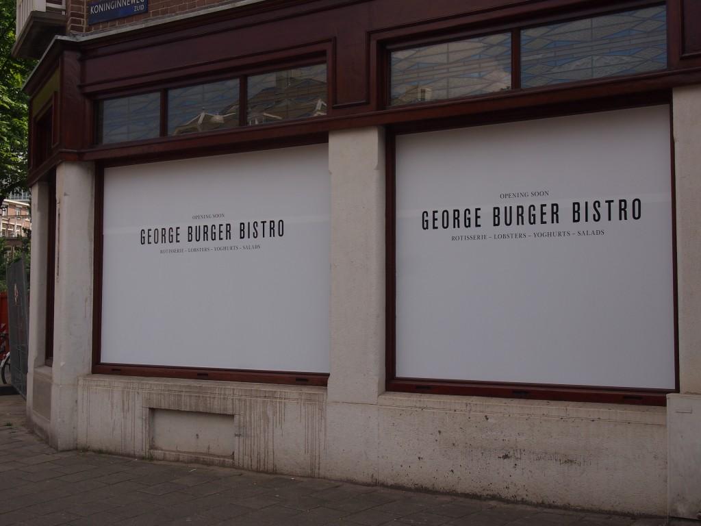Nieuw restaurant Oud-Zuid George Burger Bistro
