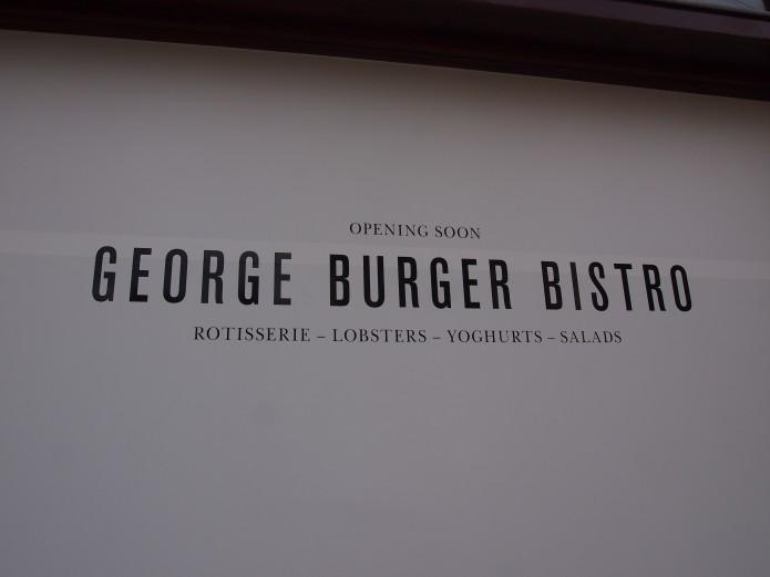 George Burger Bistro nieuw restaurant Amsterdam Oud-Zuid