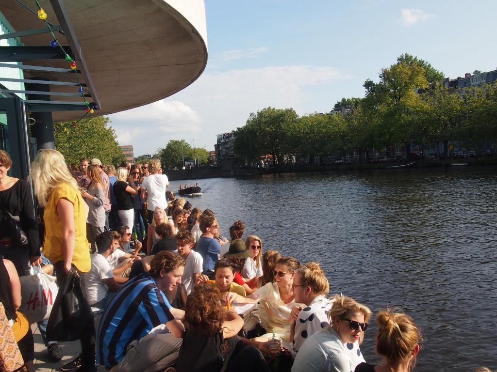 Waterkant Amsterdam nieuwe hotspot centrum terras water