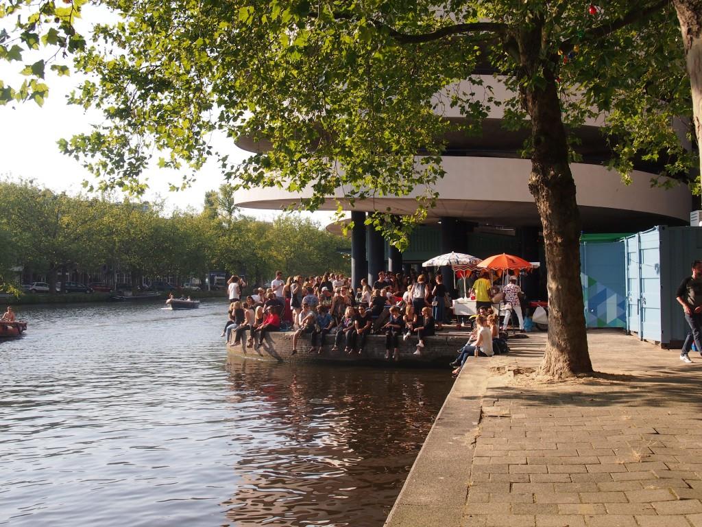 Waterkant Amsterdam Marnixstraat centrum