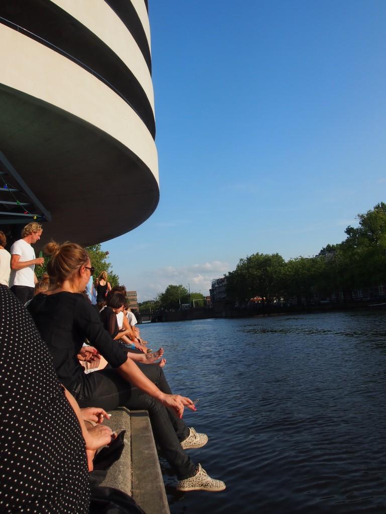Waterkant Amsterdam nieuwe hotspot centrum