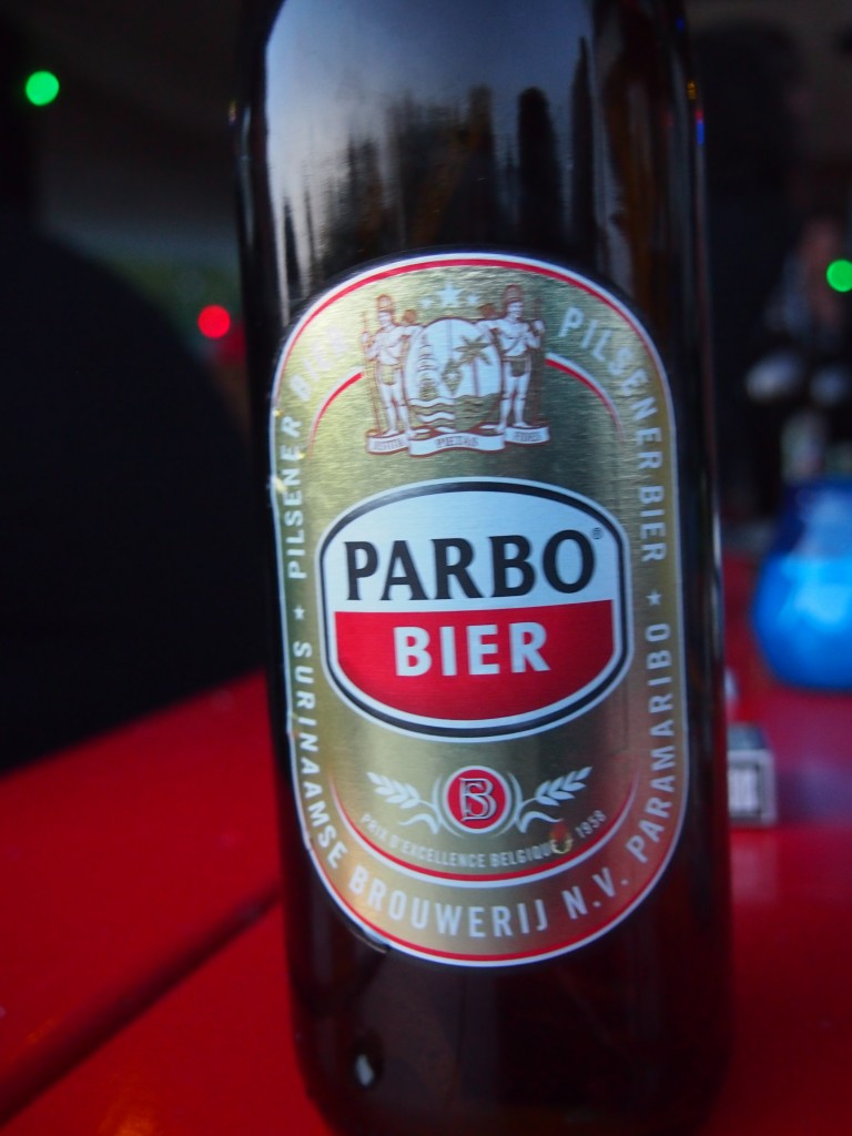Parbo bier Surinaams Waterkant Amsterdam