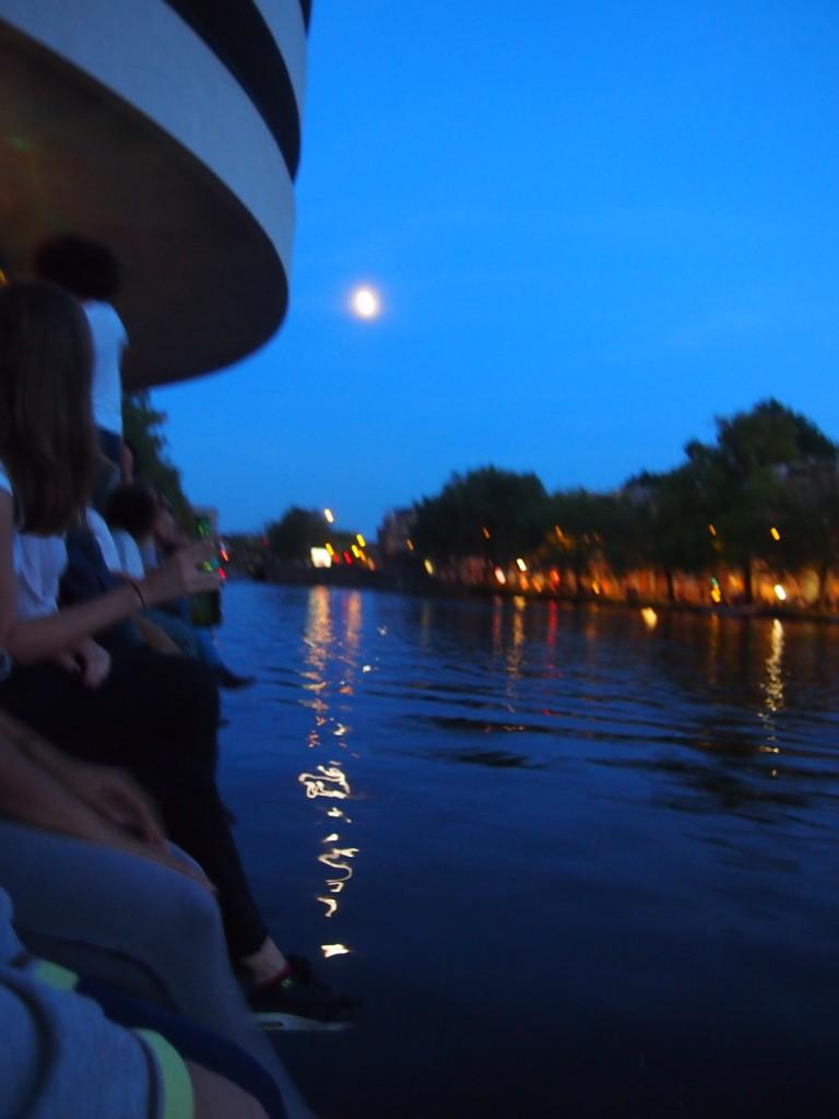 Waterkant Amsterdam centrum open tot laat