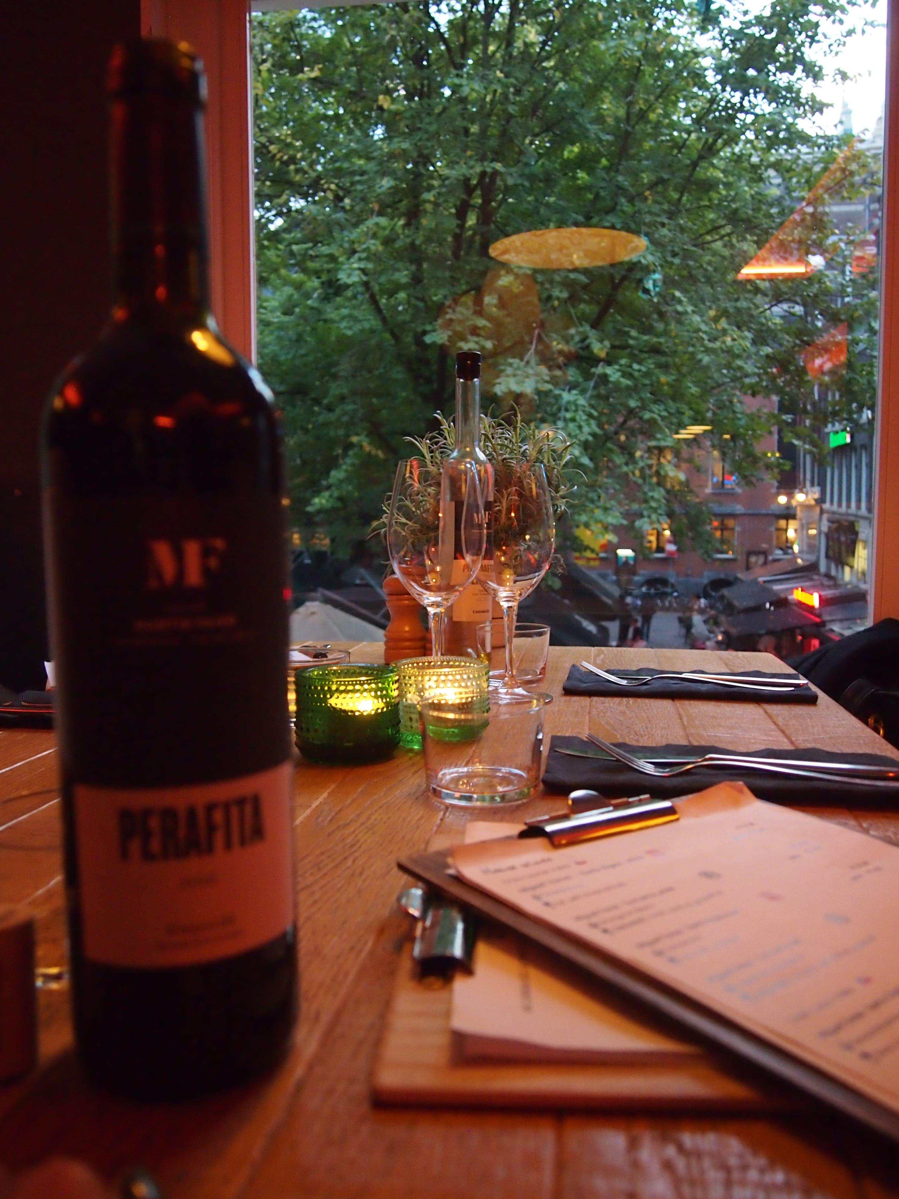 Lekker eten restaurants Leidseplein Amsterdam
