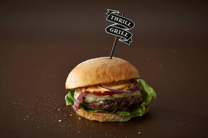 Thrill Grill Amsterdam hamburgers de Pijp