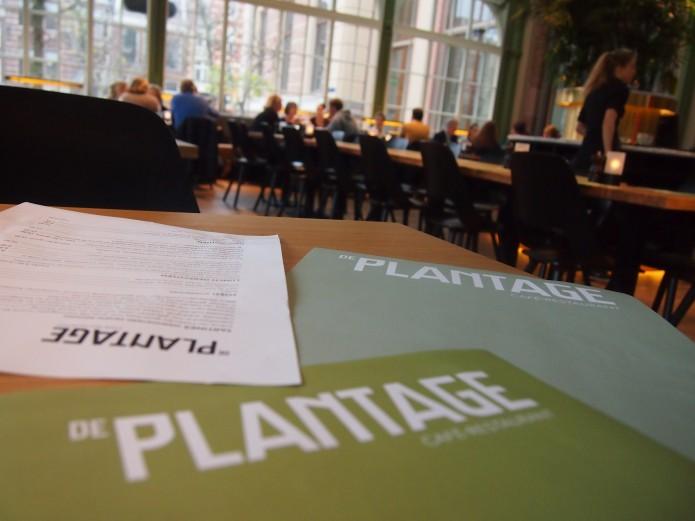 De Plantage cafe restaurant Amsterdam oost Artis