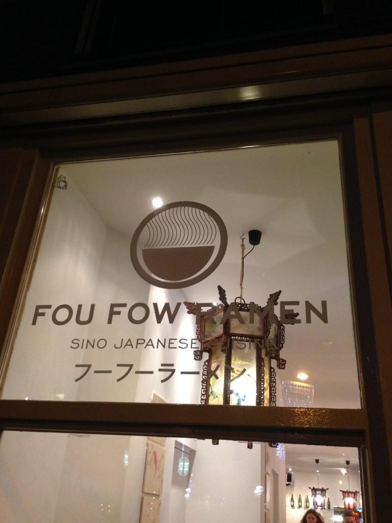 Fou Fow Ramen Amsterdam Japans restaurant Elandsgracht