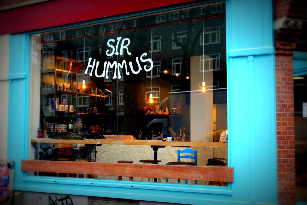 Sir Hummus Amsterdam nieuw