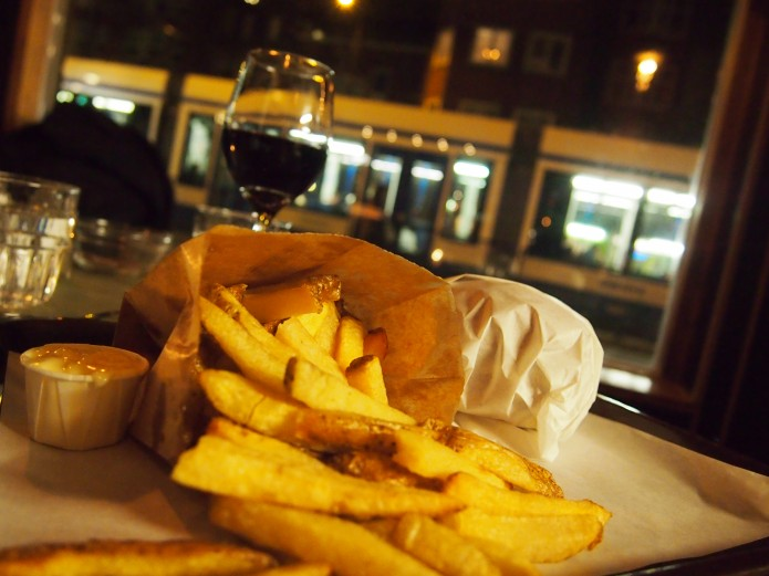 Frits Amsterdam west Baarsjes frites burgers