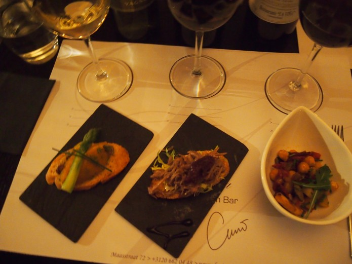 Restaurant La Vina Amsterdam rivierenbuurt tasting experience