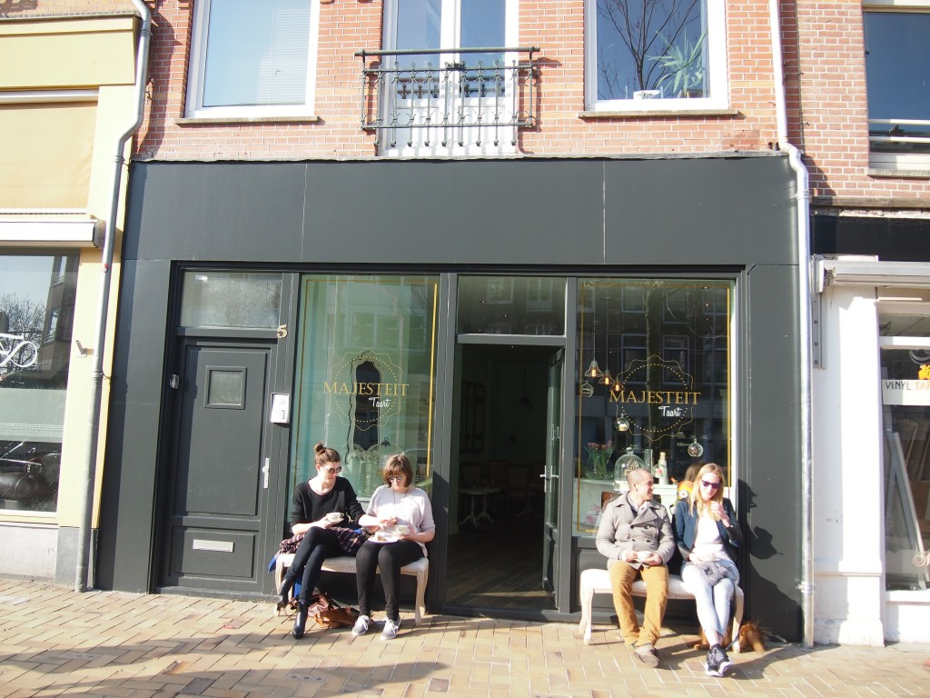 Majesteit Taartboutique Amsterdam oost cupcake brownie