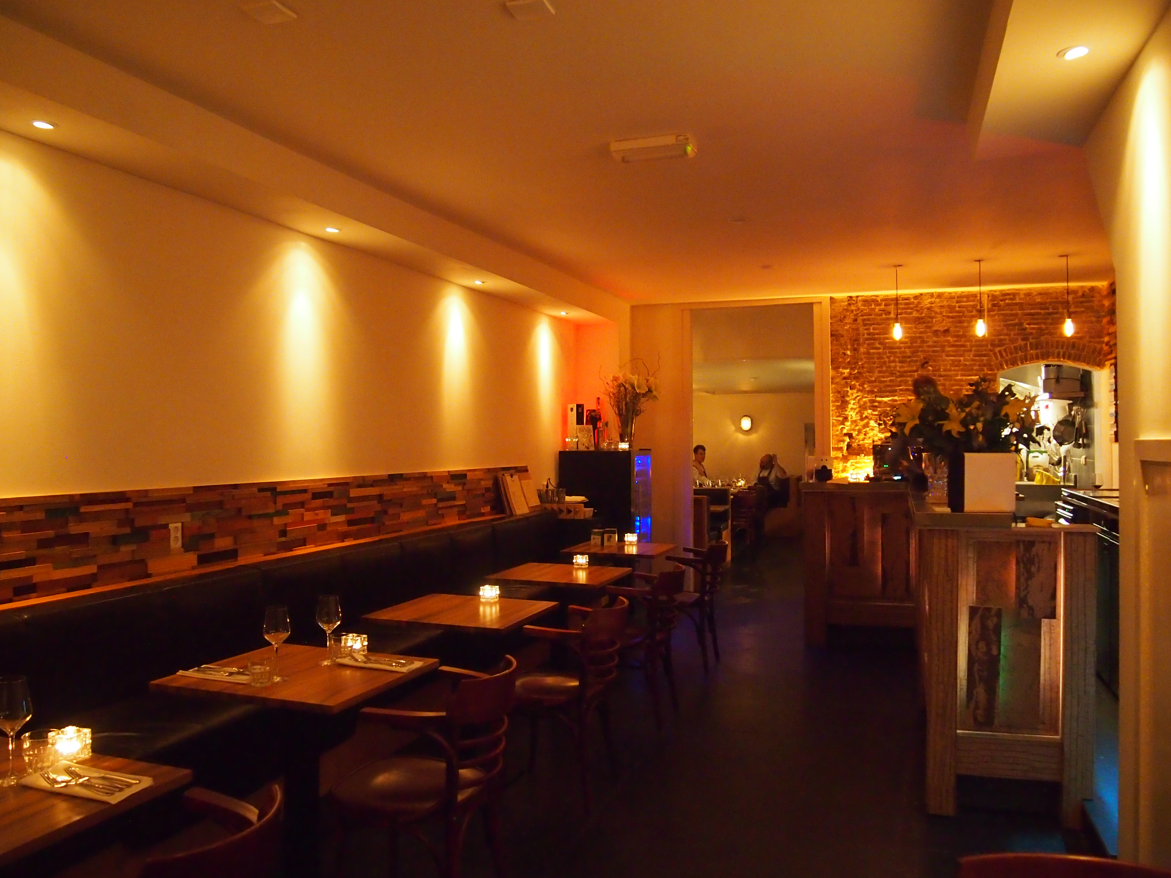 Restaurant ADAM top restaurant op de Overtoom