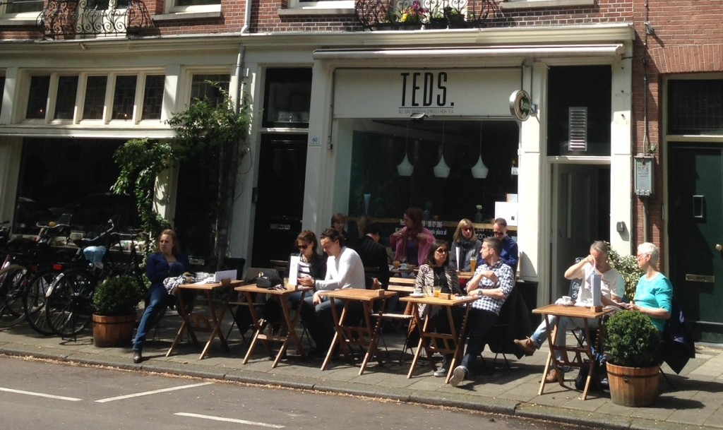 TEDS Amsterdam terras
