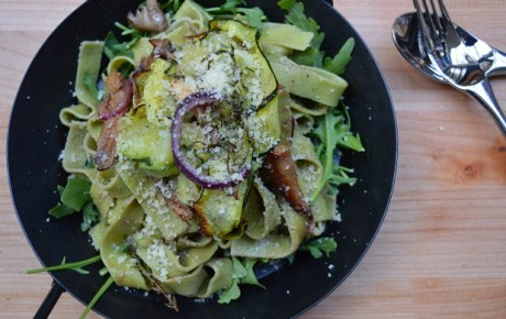 Recept: pasta met truffel en paddestoelen