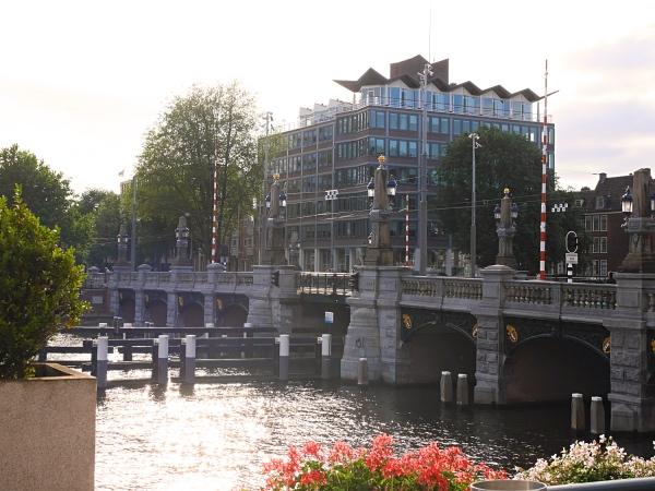 Amstel Hotel Amsterdam terras