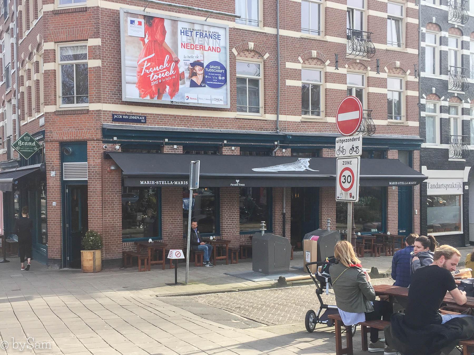 Café Comodo Amsterdam terras