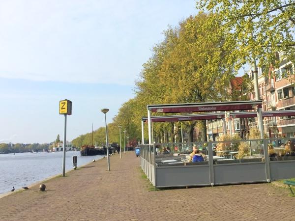 Terras Amsterdam Oost Hesp
