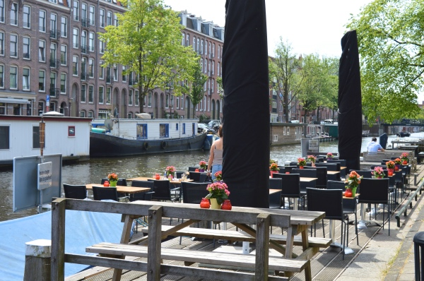 Terras Amsterdam West Cafe Lennep