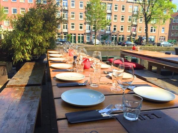 Terras Amsterdam West Lokaal Edel