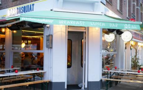 Bar Basquiat in Amsterdam oost