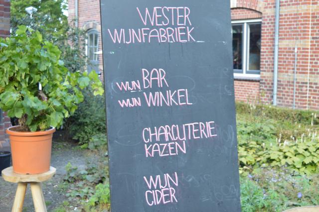 Wester Wijnfabriek Westergasterras Amsterdam