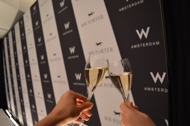 W Hotel Mr Porter openingsfeest