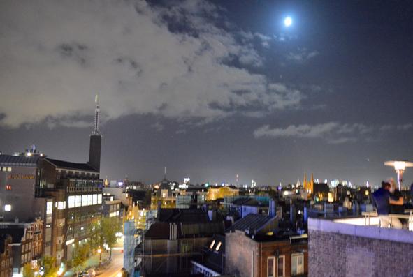 W Hotel rooftop terrace