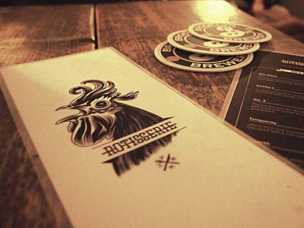 Rotisserie Amsterdam bar restaurant