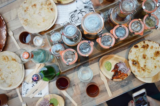 Shirkhan Amsterdam Indian streetfood