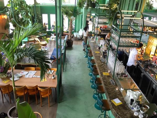 Bar Botanique Amsterdam Oost restaurant