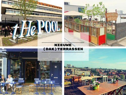 Nieuwe dak terrassen Amsterdam hotspot