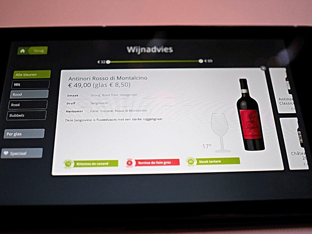 Winestein digitale sommelier