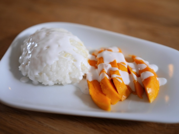 Mango sticky rice thais recept